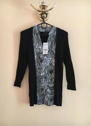 Батал большой размер новая натуральная кофта блуза джемпер кардиган свитер кофточка