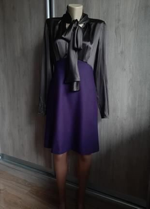Maschino роскошное платье шерсть/шелк