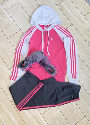 Спортивный костюм adidas размер на фото