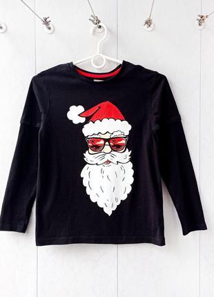 Супер новогодний реглан george  ( дед мороз / санта клаус / кофта / футболка )