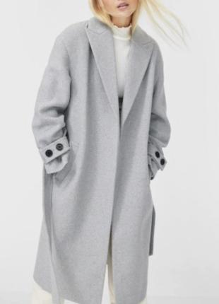 Трендове пальто на підкладці s-m
