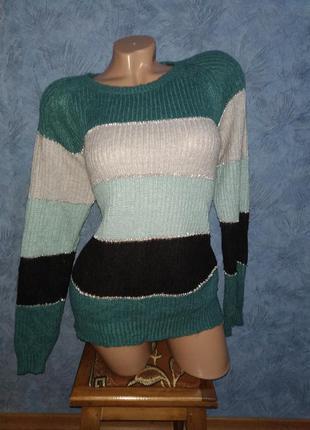 Шикарный мягкий теплый обьемный свитер/свитшот оверсайз