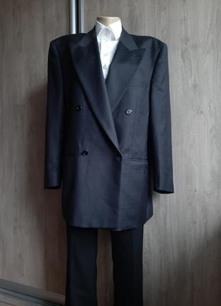 Valentino роскошный пиджаж с мужского плеча шерсть