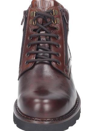 Зимние,кожаные ботинки, galizio torresi р. 41