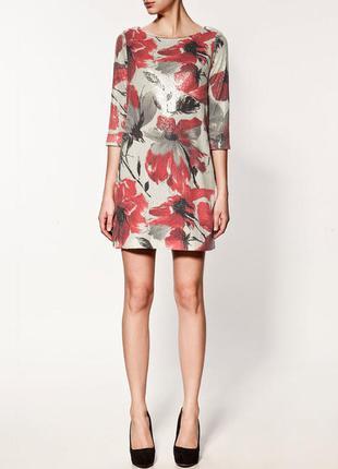 Вечернее платье паетки от zara