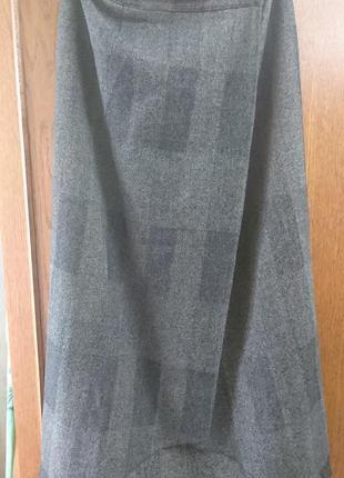 Красивая теплая юбка