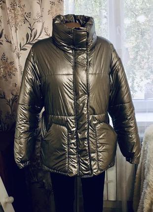 Куртка  стёганная дутая s - m