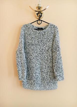 Батал большой размер классный тёплый мягкий нарядный свитер свитерок кофта кофточка