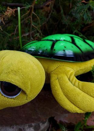 Проектор звезд черепаха ночник музыкальная лампа глазастик