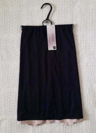 Подъюбник нижняя юбка під'юбник комплект из 2-х шт.  marks&spenser размер 20