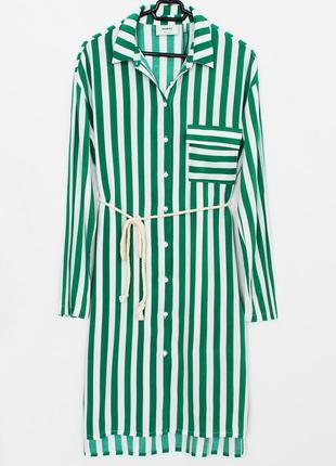 Женское стильное платье рубашка xs s minimum