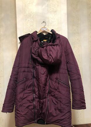 Слингокуртка куртка для беременных