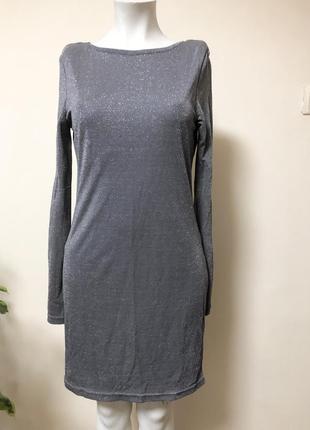 Платье с люрексом,платье блестящее,платье в блестках