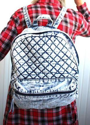 Актуальный джинсовый рюкзак new look