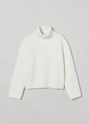 Мягкий свитер h&m