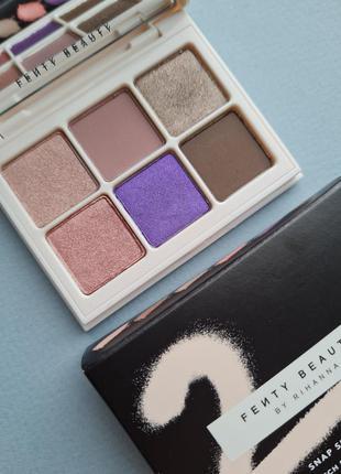 Палетка теней fenty beauty by rihanna eyeshadow palette cool neutral 2