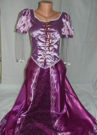 Платье рапунцель р.s для аниматоров