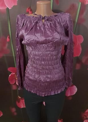 Блуза из чистого шёлка