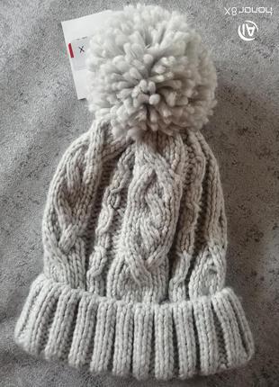 Мягкая тёплая шапка германия c&a