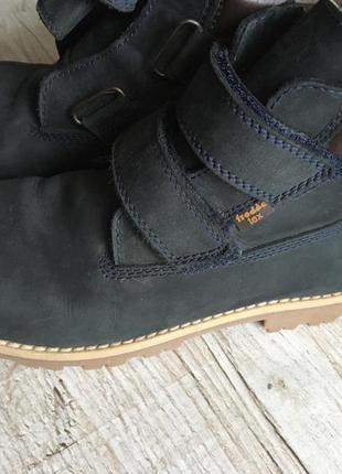 Кожанные ботинки сапожки