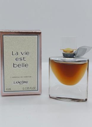 Lancome la vie est belle l'absolu миниатюра
