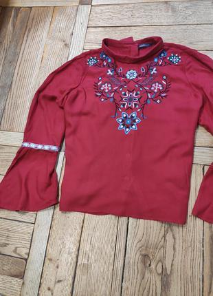 Вишита блузка блуза сорочка рубашка з вишивкою