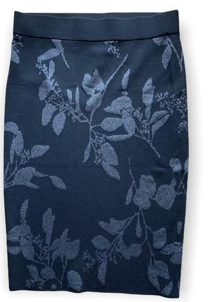 Юбка миди 🔥 жаккардовый джерси трикотаж юбка-карандаш