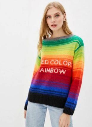 Джемпер радуга united colors of benetton eur m