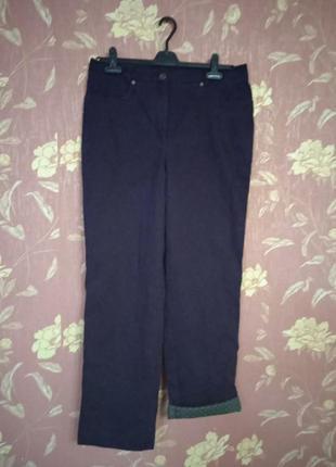 Женские утепленные хлопковые штаны 44 р,наш 52