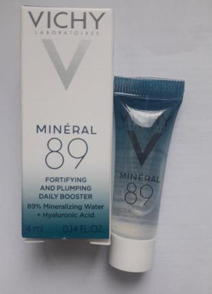 Vichy mineral 89 fortifying and plumping daily booster миниатюры.