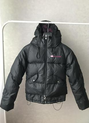 Крутой пуховик куртка р.s-m
