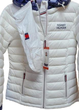 Куртка tommy hilfiger packable lightweight оригинал куплена в usa, размер s