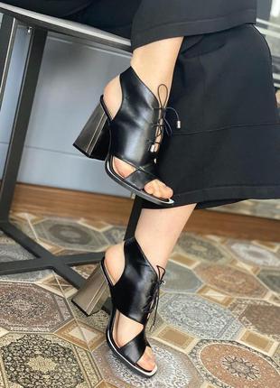 Ботинки женские lottini, натуральная кожа