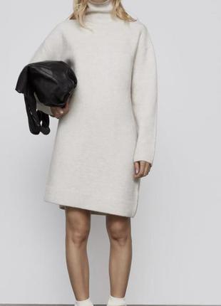 Стильное мягкое платье zara