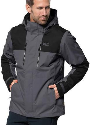 Мужская водонепроницаемая всесезонная куртка на мембране jack wolfskin