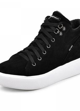 Замшевые ботинки адель, деми, зима