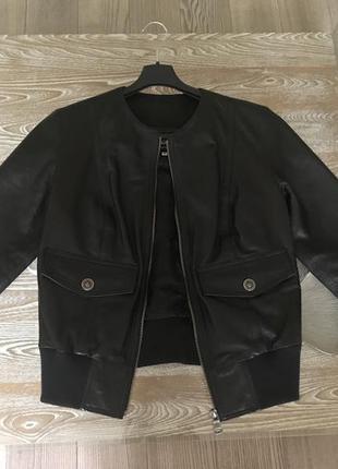 Куртка кожаная d&g