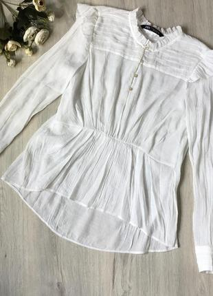 Фирменная блузка zara, размер s