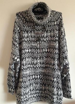 💥 удлинённый свитер