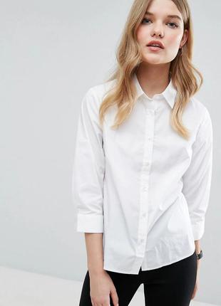 Рубашка белая asos