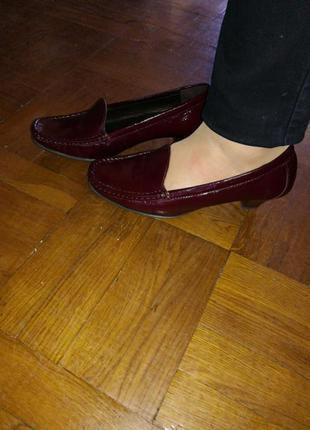 Туфли мокасины, новые, натуральная кожа