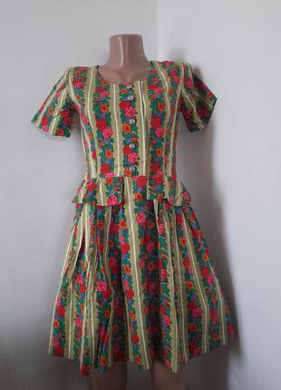 Винтажное платье ручная работа