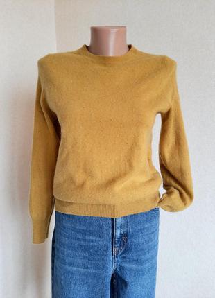 Кашемировый свитер marks&spencer светер кофта пуловер джемпер кашемир 100 % cashmere