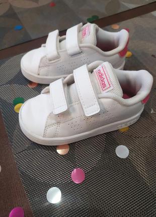 Белые кроссовки адидас adidas