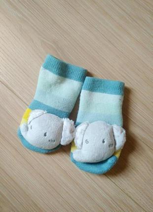 Теплі дитячі носочки зі словником/махрові носки