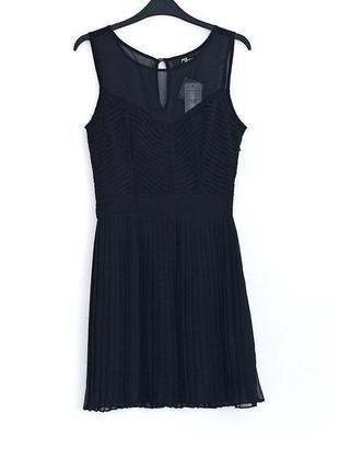 Платье с плиссировкой jane norman • р-р 10\36 (s)