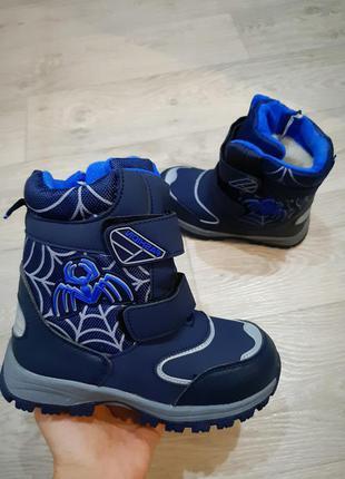 Зимние термо ботинки для мальчика,качество и модель супер!
