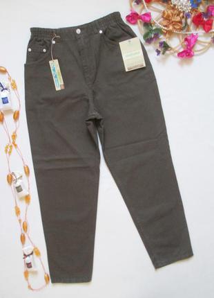 Мега крутые джинсы мом цвета хаки высокая посадка m&s 🍁🌹🍁