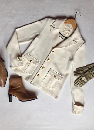 Элегантный масленной жакет пиджак бренда holly & whyte размер s 36 44