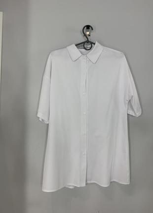 Костюм с шортами белый